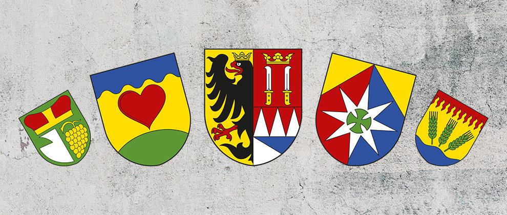 Znaky a vlajky obcí/měst/městysů