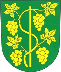 Znak městyse Ostrovačice.