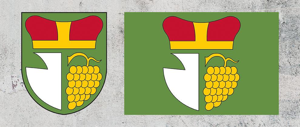 Znak a vlajka obce Bantice
