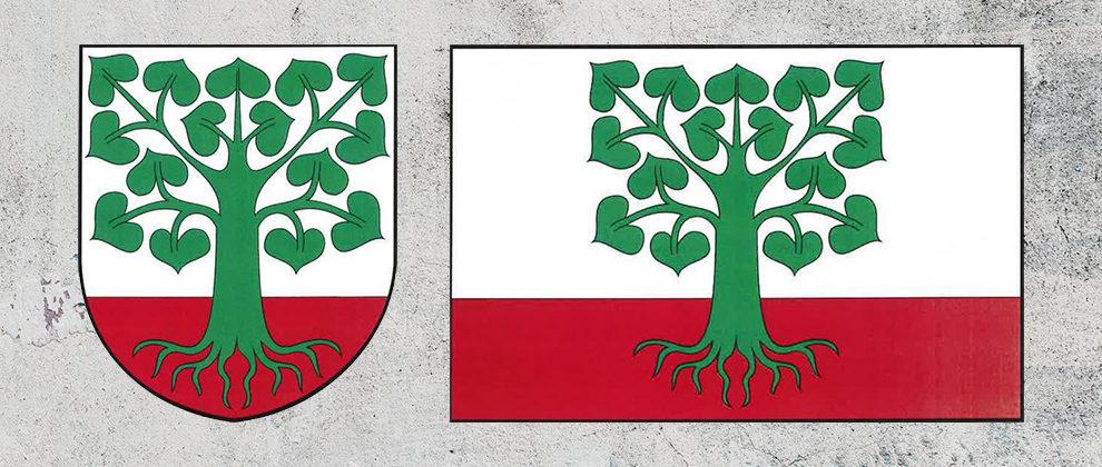 Znak a vlajka obce Klokočov