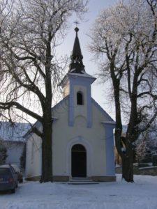 Kaple Panny Marie v obci Jarov